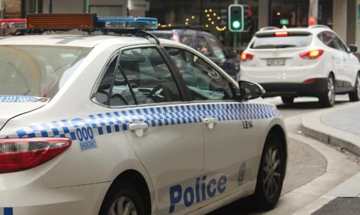 NSW-Police-car-on-the-road